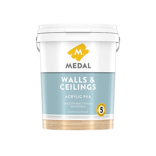 Walls Amp Ceilings Acrylic Pva Medal Paints